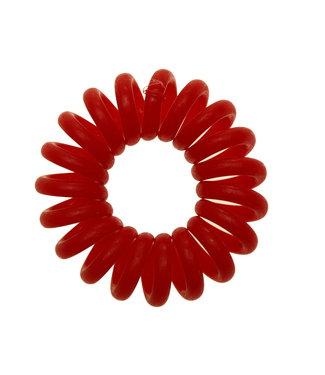 Opaque spiraal elastiek - Tomato - 3 stuks
