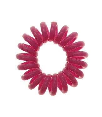 Opaque spiraal elastiek - Orchid - 3 stuks
