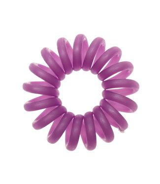 Opaque spiraal elastiek - Wisteria - 3 stuks