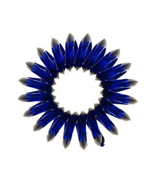 Transparent spiral elastic - Ocean Floor - 3 pieces