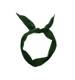 Wire wrap hairband - Dark Green