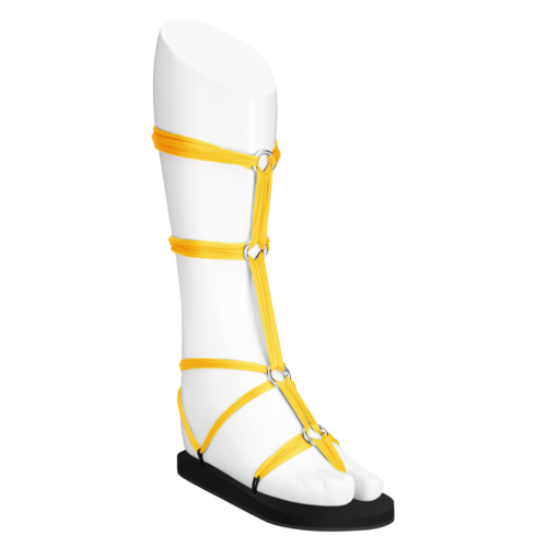 Lux Laces Yellow