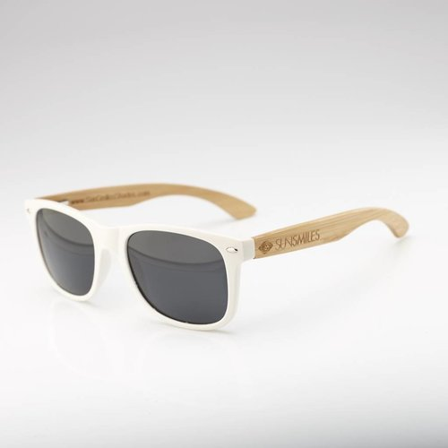 Bamboo Sunglasses White