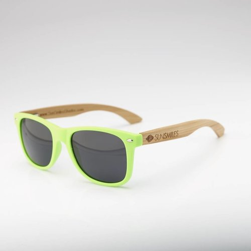 Bamboo Sunglasses Green