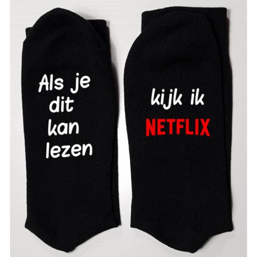 Sokken bedrukt *Netflix*-1