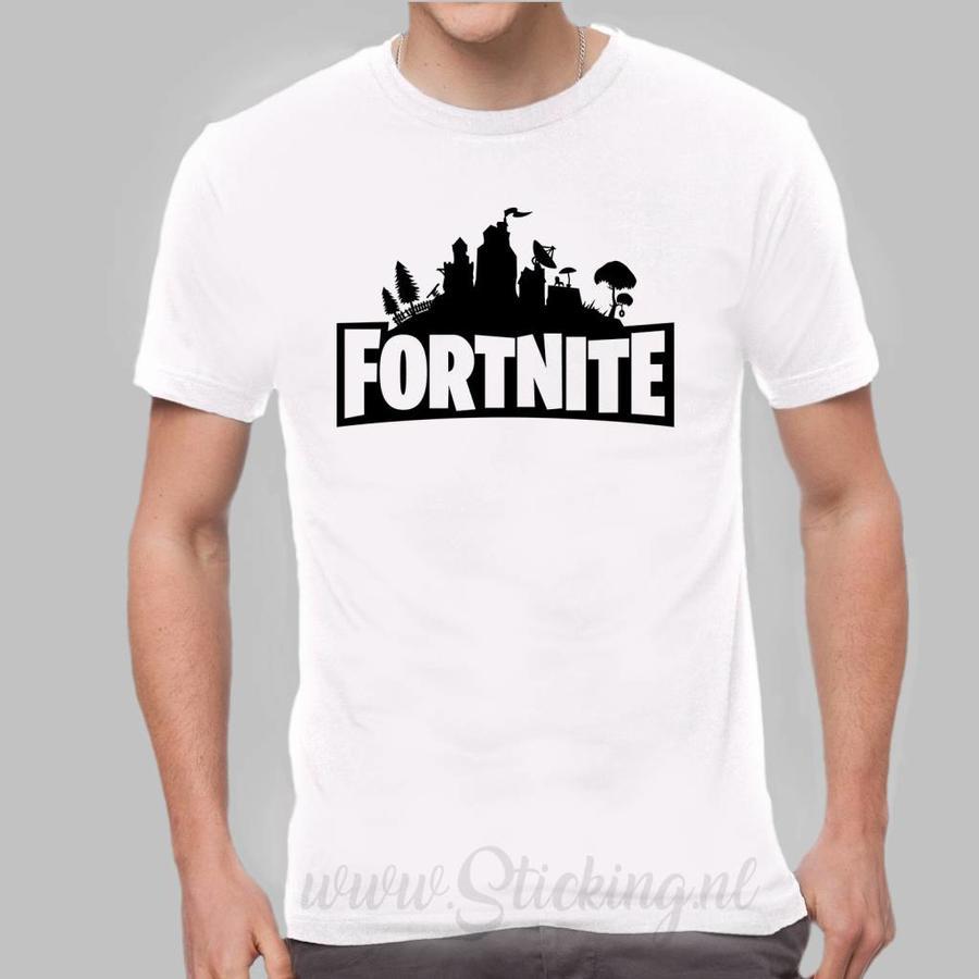 Shirt  Fortnite in diverse kleuren-8