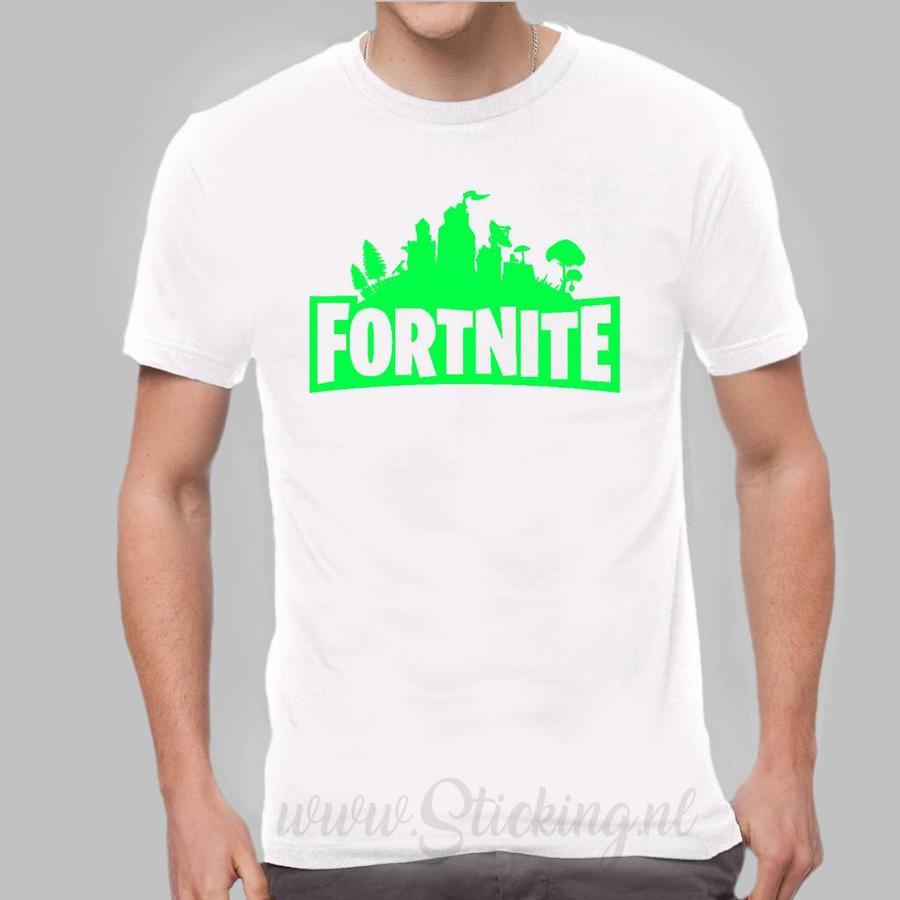 Shirt  Fortnite in diverse kleuren-9