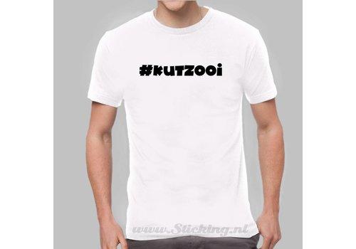 Heren Shirt *#Kutzooi*