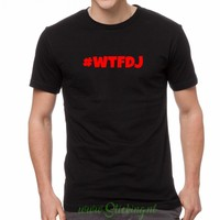 tshirt #WTFDJ  heren model