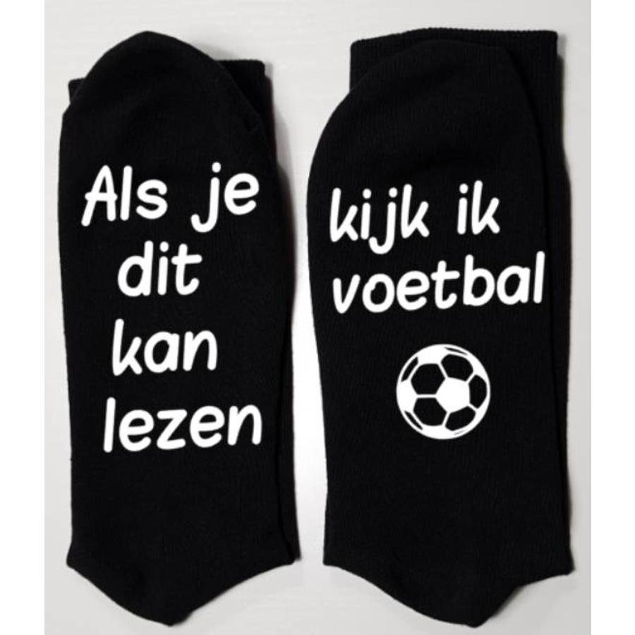 sokken *als je dit kan lezen, kijk ik voetbal*-1