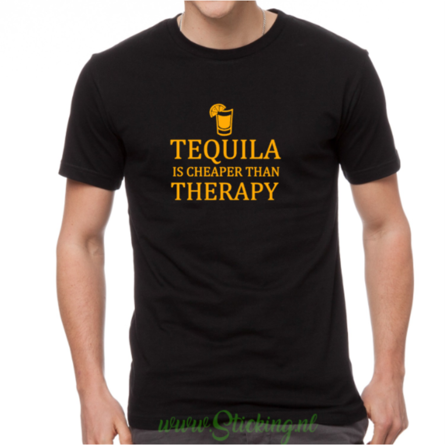 Heren shirt *Tequila Therapy*-1