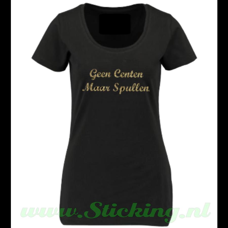 T-Shirt *Geen Centen Maar Spullen*-2