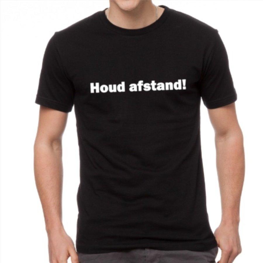 T-Shirt , Houd afstand!-1
