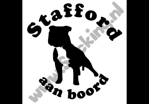Stafford aan boord sticker