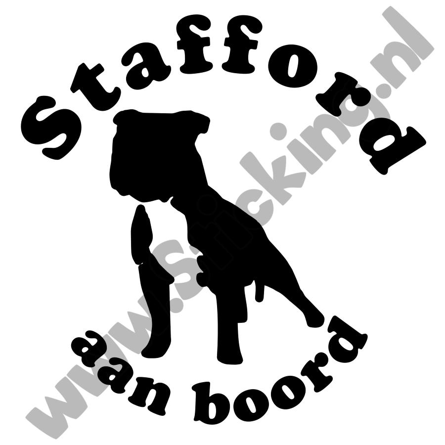 Stafford aan boord sticker-1