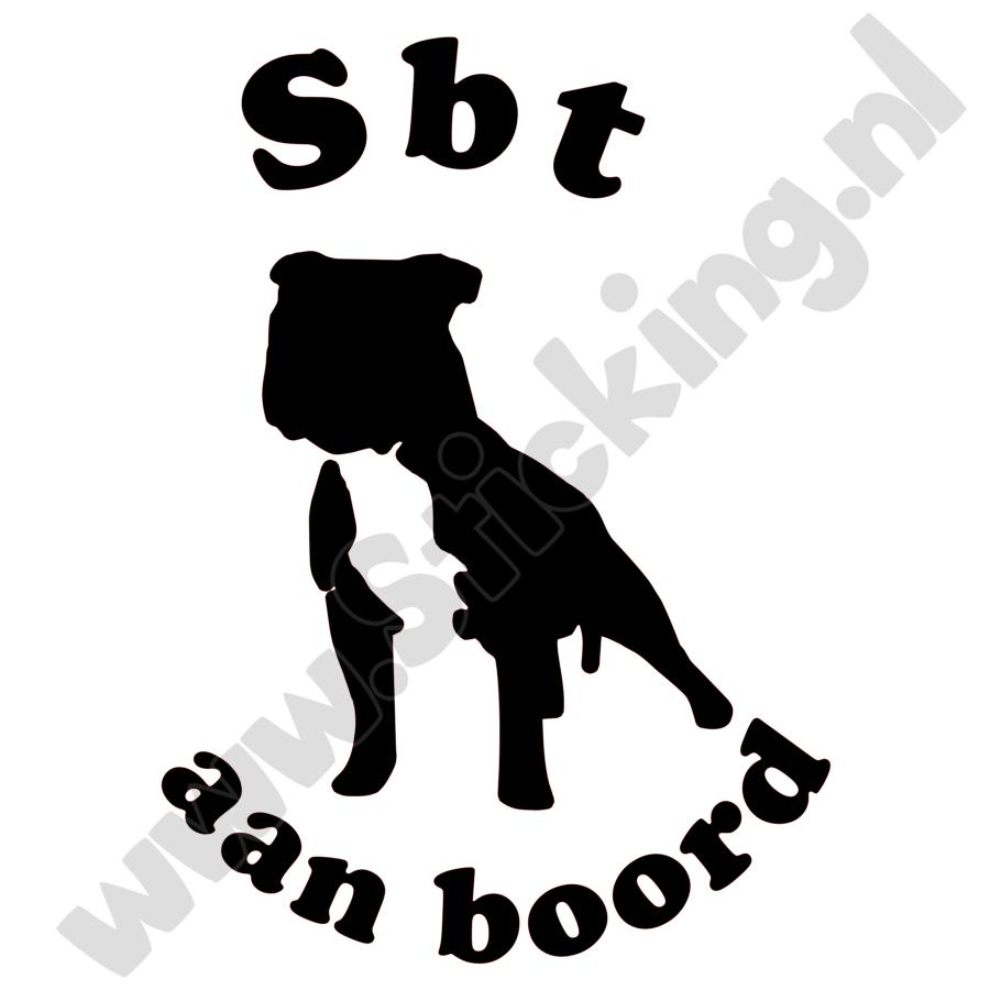 Stafford aan boord sticker-3