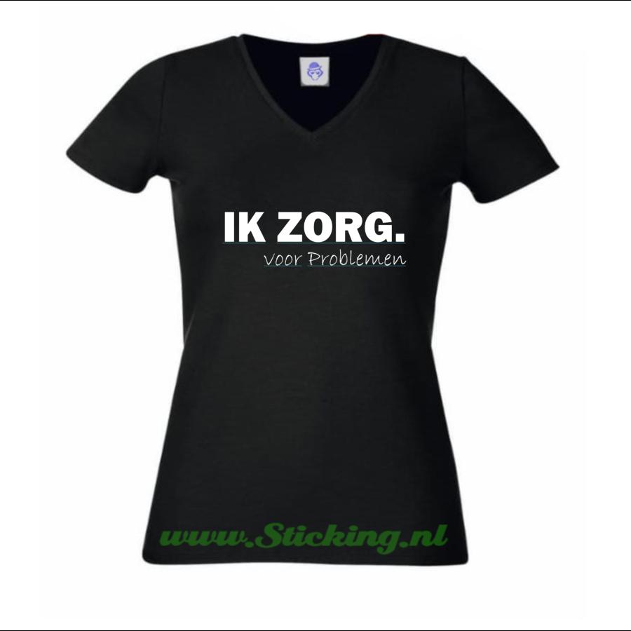 Shirt *IK ZORG. voor Problemen*-2