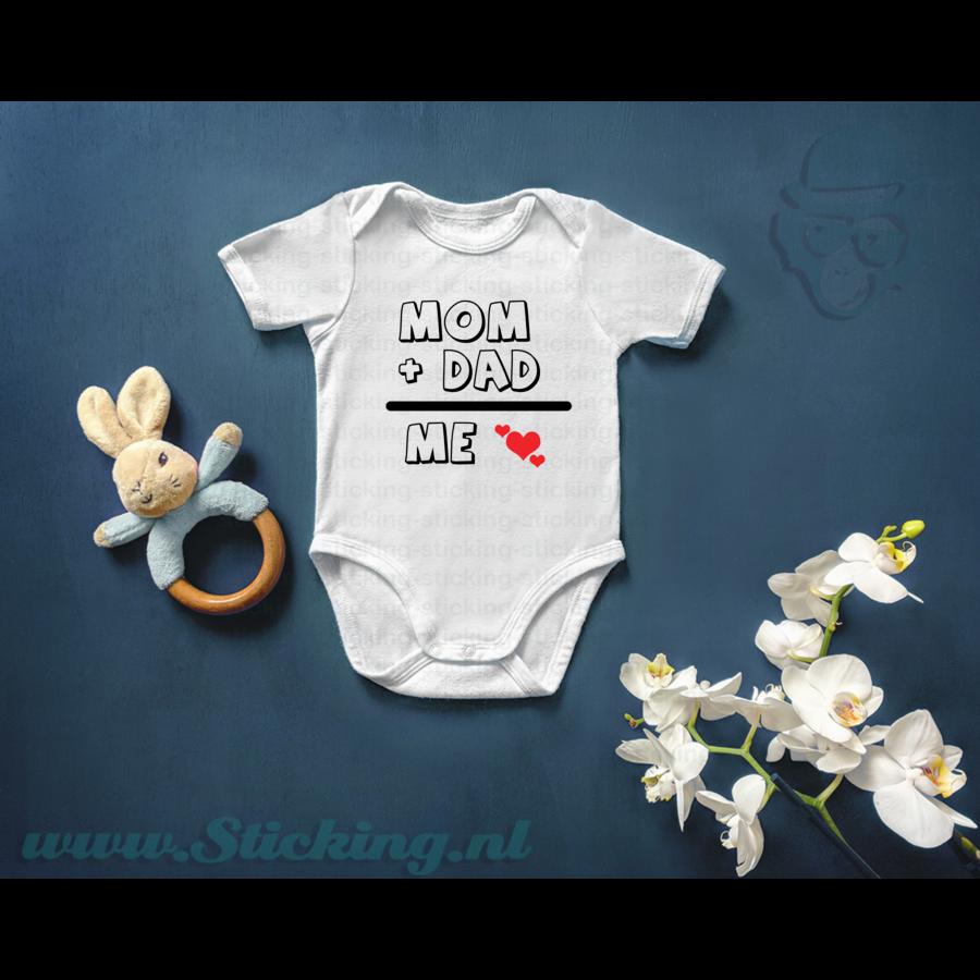 Romper *Mom + Dad = Me*-1