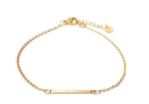 Label Kiki Bar bracelet Gold