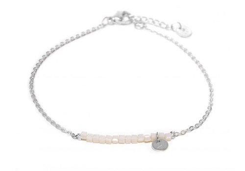 Label Kiki Hematite necklace silver