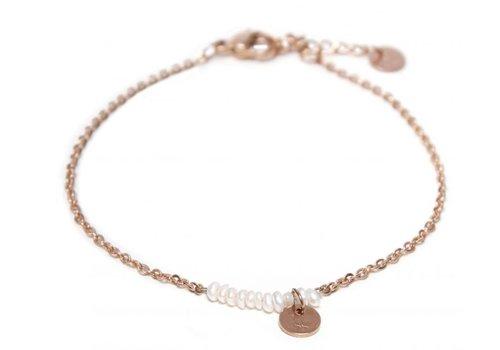 Label Kiki Pearl bracelet rosegold