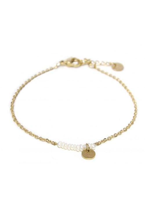 Label Kiki Pearl bracelet gold