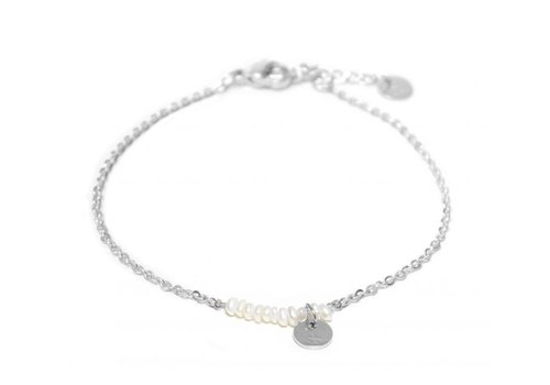 Label Kiki Pearl bracelet silver