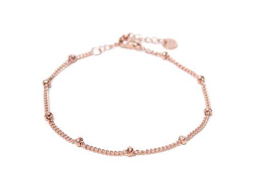 Label Kiki Dot chain bracelet rosegold
