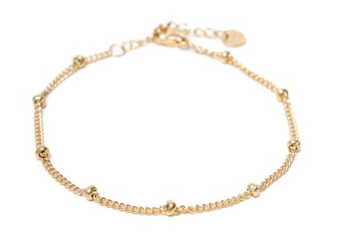 Label Kiki Dot chain bracelet gold