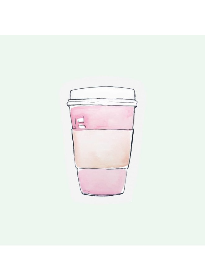Cut out Cards - Coffee Cup