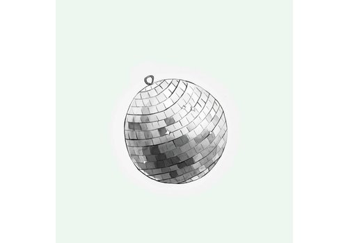 The Gift Label Cut out Cards - Disco  Ball