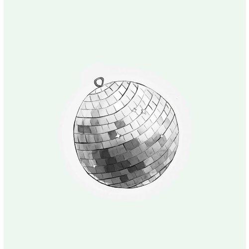 Cut out Cards - Disco  Ball