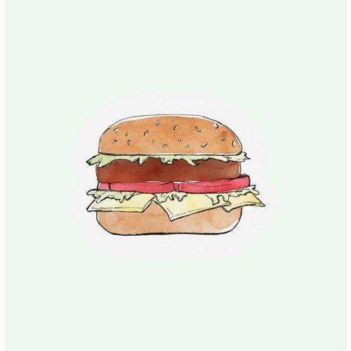 Cut out Cards - Hamburger