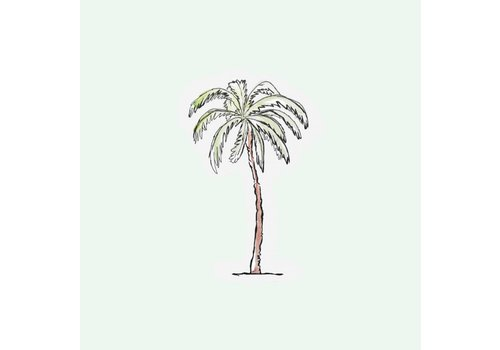 The Gift Label Cut out Cards - Palm tree