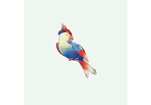 The Gift Label Cut out Cards - Parrot