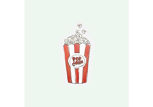 The Gift Label Cut out Cards - Popcorn