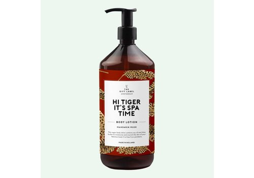The Gift Label Body Lotion Hi Tiger