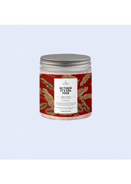 The Gift Label Himalayan Body Scrub Hi Tiger