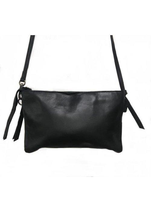 Labelsz Double pocket bag black