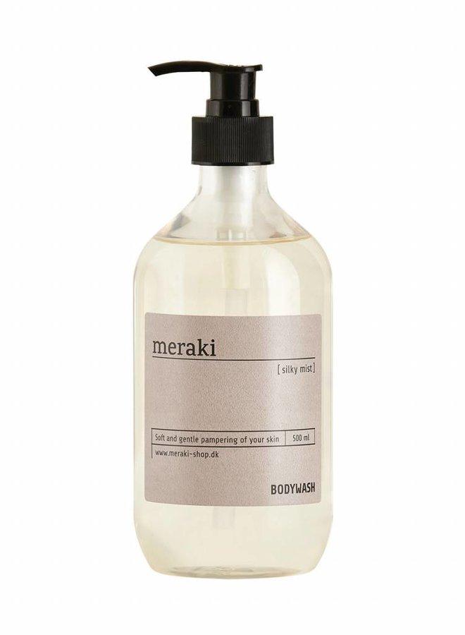 Body wash, Silky mist, 500 ml.