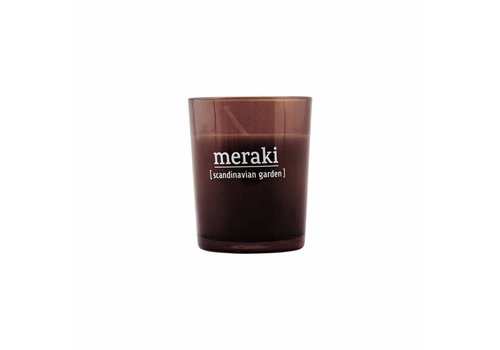 Meraki Scented candle, Scandinavian Garden  dia.: 5.5 cm, h.: 6.7 cm