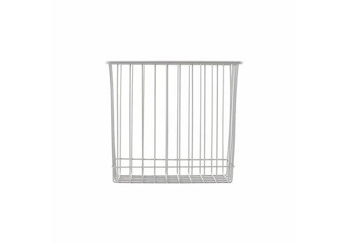 Meraki Basket, Grey, l: 22 cm, w: 14 cm, h: 20 cm