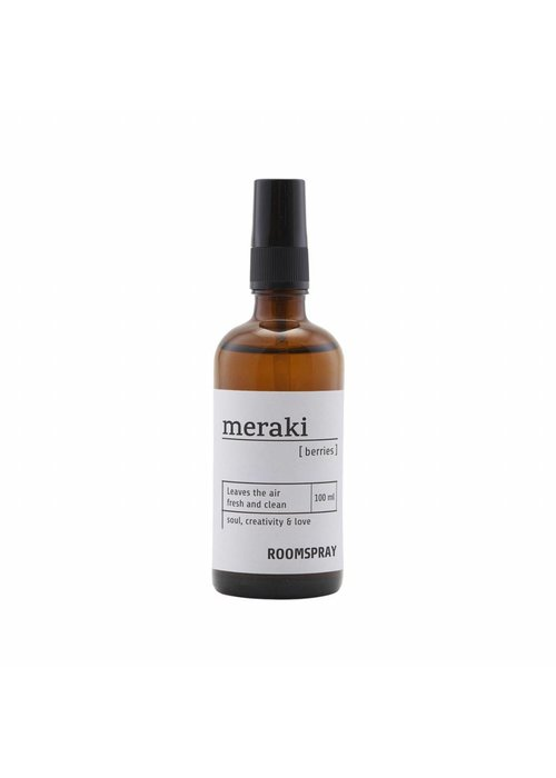 Meraki Room spray, Berries, 100 ml.