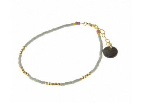Blinckstar 1802A35 - GF 4x5 GF Beads Matte Grey Japanese Mini Beads