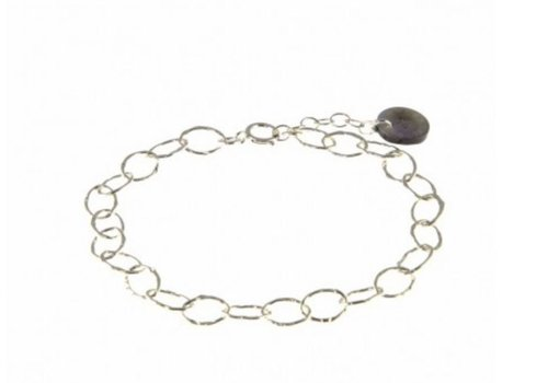 Blinckstar 1802A66 - 925 Small Hammered Link