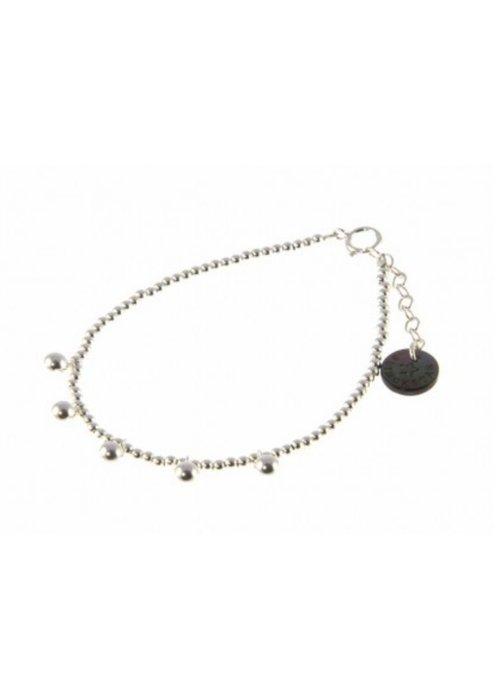 Blinckstar 1802A76 - 925 5x Ball Drop 925 Beads