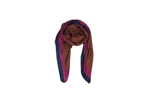 Black Colour PALAZZO scarf rust