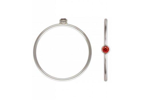 Blinckstar 1802R50 - 925 Ruby CZ Size 7