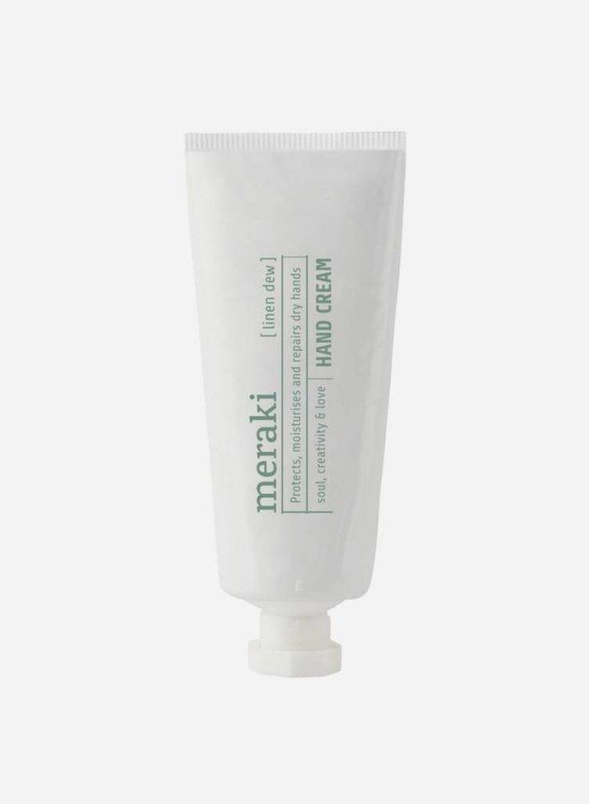 Hand cream, Linen dew