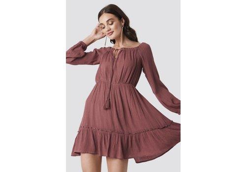 Rut & Circle Crepe Dress
